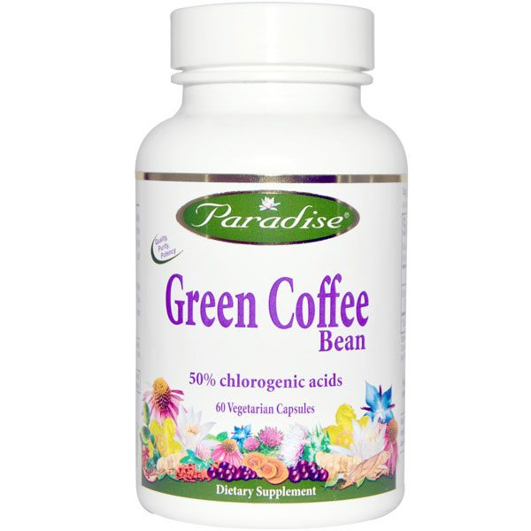 Paradise Herbs Green Coffee Bean Extract Hercules Supplements Egypt